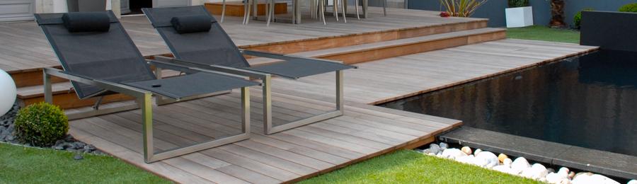 kit terrasse bois teck d afrique devis lames et accessoires. Black Bedroom Furniture Sets. Home Design Ideas
